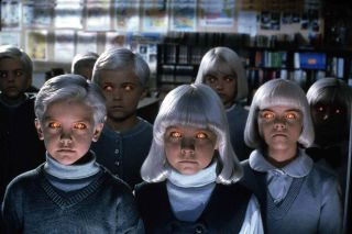 'The Midwich Cuckoos' by John Wyndham was previously made into this 1995 horror movie Village Of the Damned.