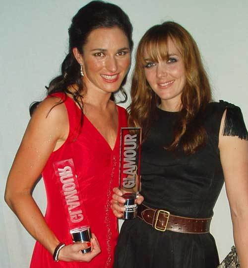 Sarah Storey Victoria Pendleton Glamour awards 2009