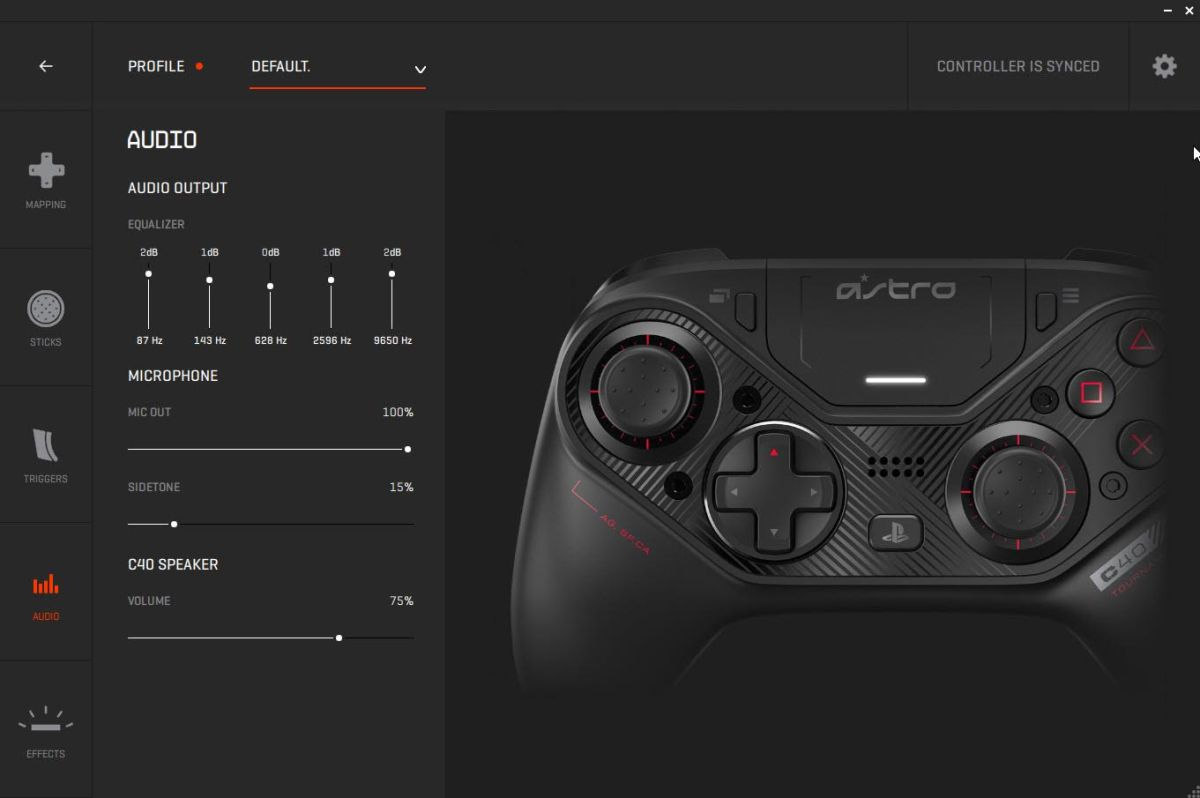 From the makers of the Xbox 360 controller, the Astro C40 TR is a