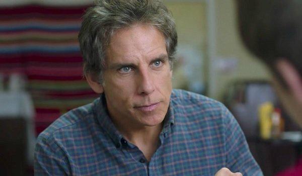 Brad's Status Ben Stiller diner conversation