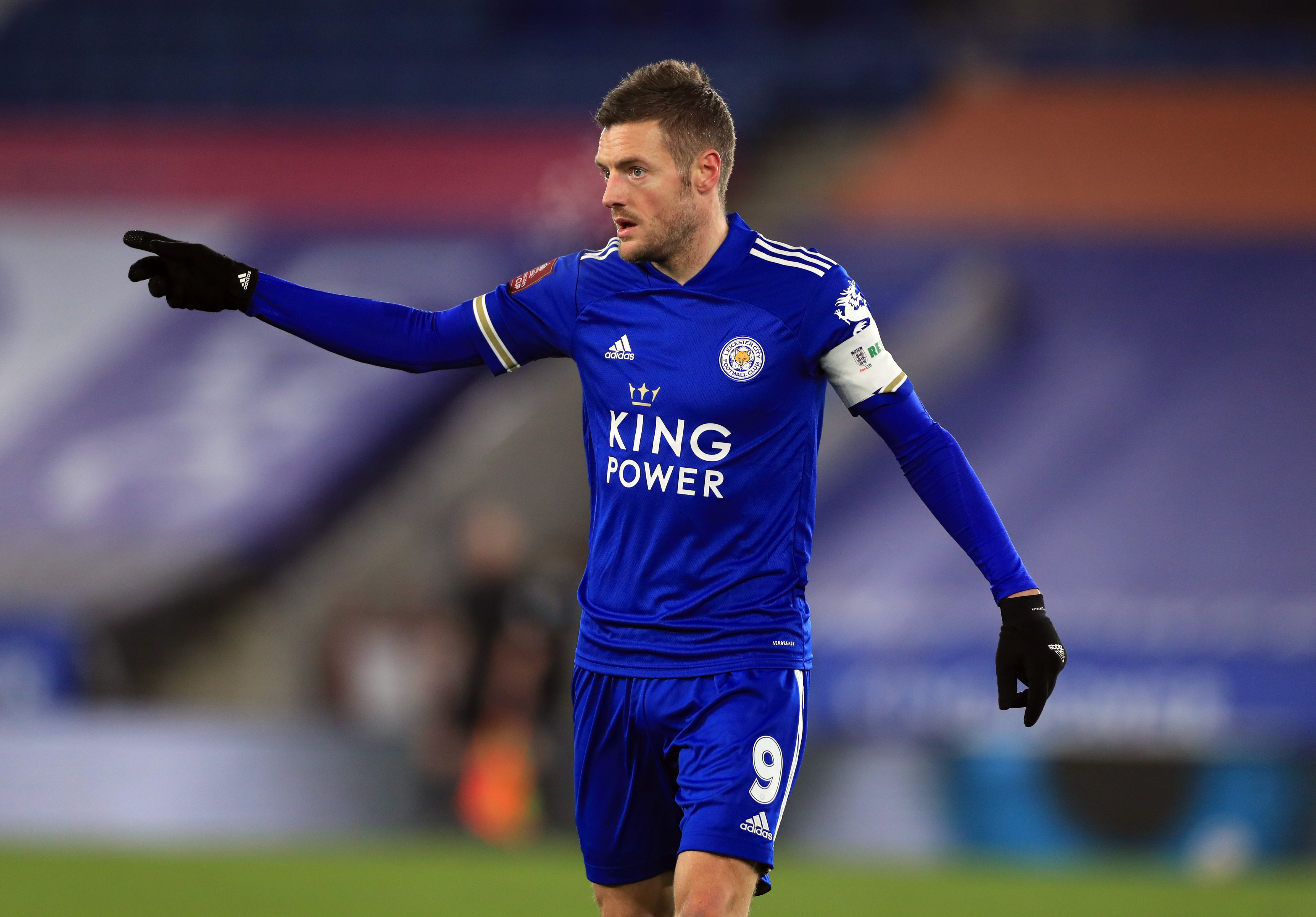 Jamie Vardy proved an inspired signing for the Foxes