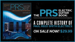 39 the prs electric guitar book 39 provides complete history of paul reed smith electrics guitarworld. Black Bedroom Furniture Sets. Home Design Ideas