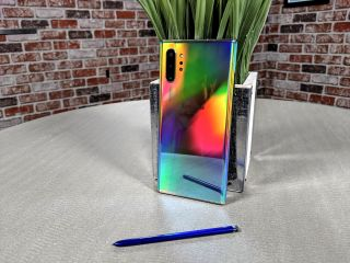 Galaxy Note 10 Plus back with S Pen
