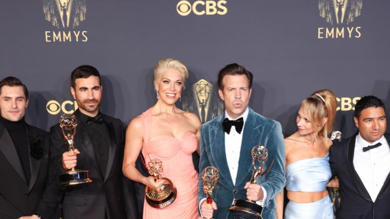 Sports comedy Ted Lasso scooped up some of the top prizes at this year's Emmys