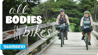All bodies on bikes is a video about bikepacking and body image