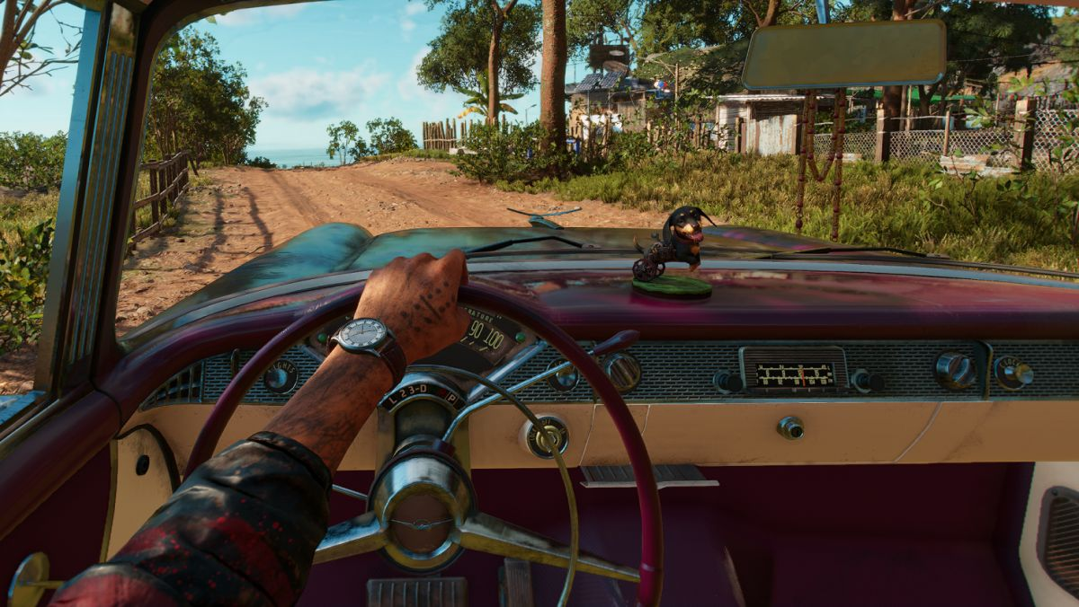 Far Cry 6 mod lets you change FOV while driving and horsing around