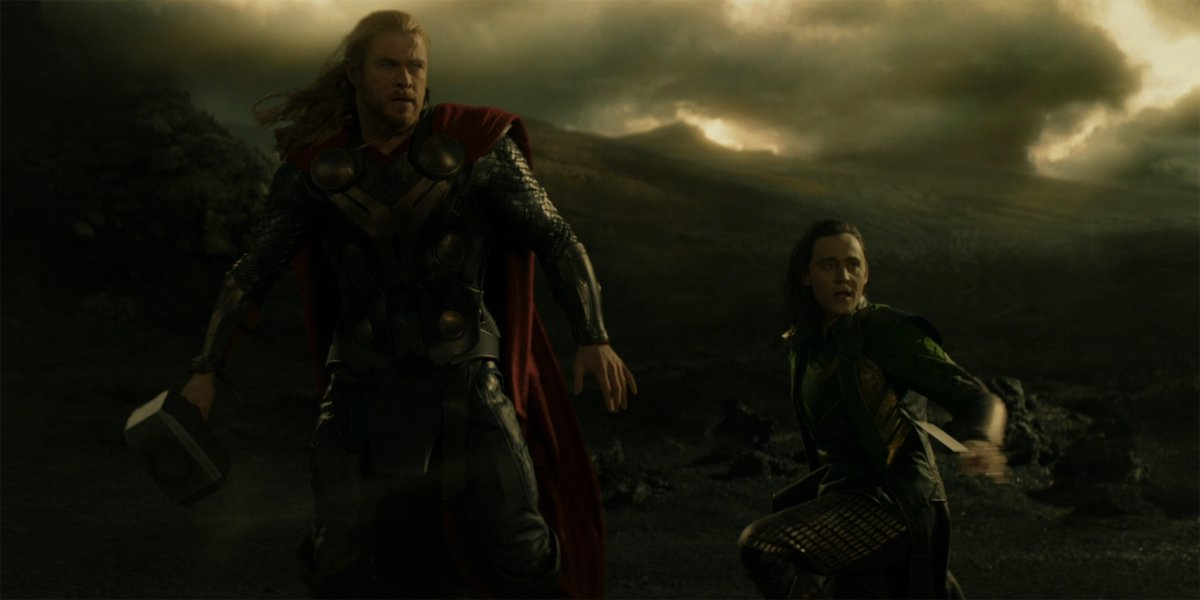 Thor and Loki prepare for battle in Thor The Dark World