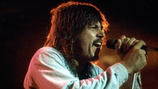 Molly Hatchet's Danny Joe Brown singing