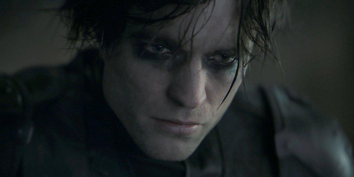 Robert Pattinson in The Batman, mask off
