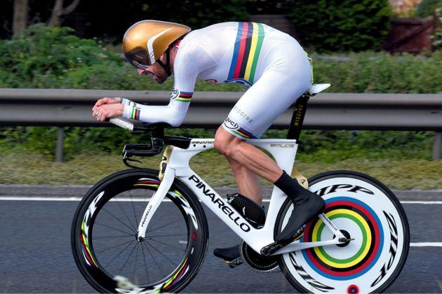 Sir Bradley Wiggins bike