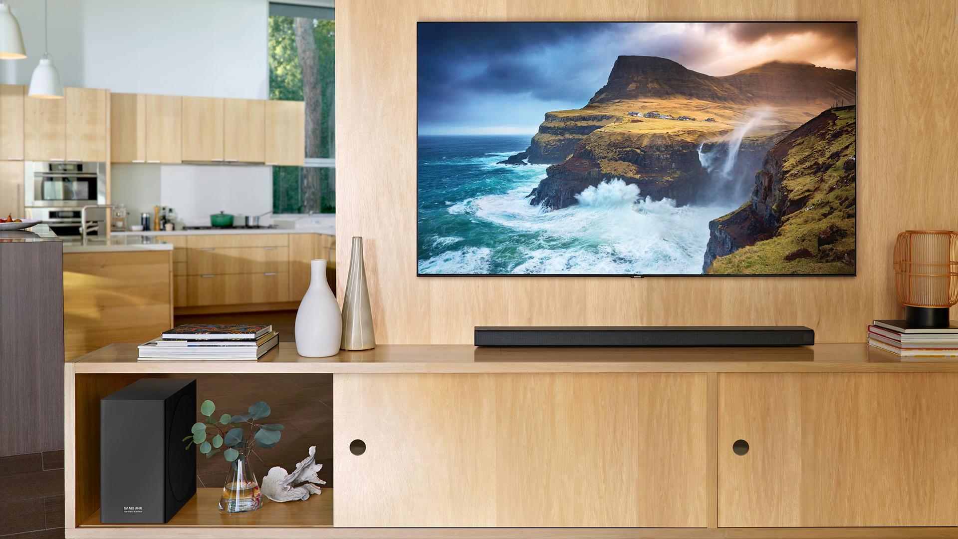 Samsung Q70 Qled Tv Review Techradar