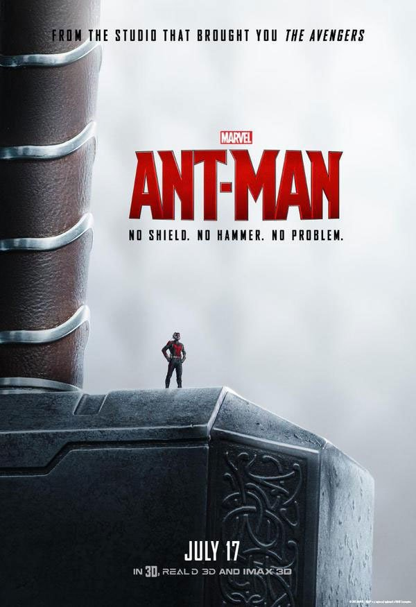 Ant-Man Thor Poster
