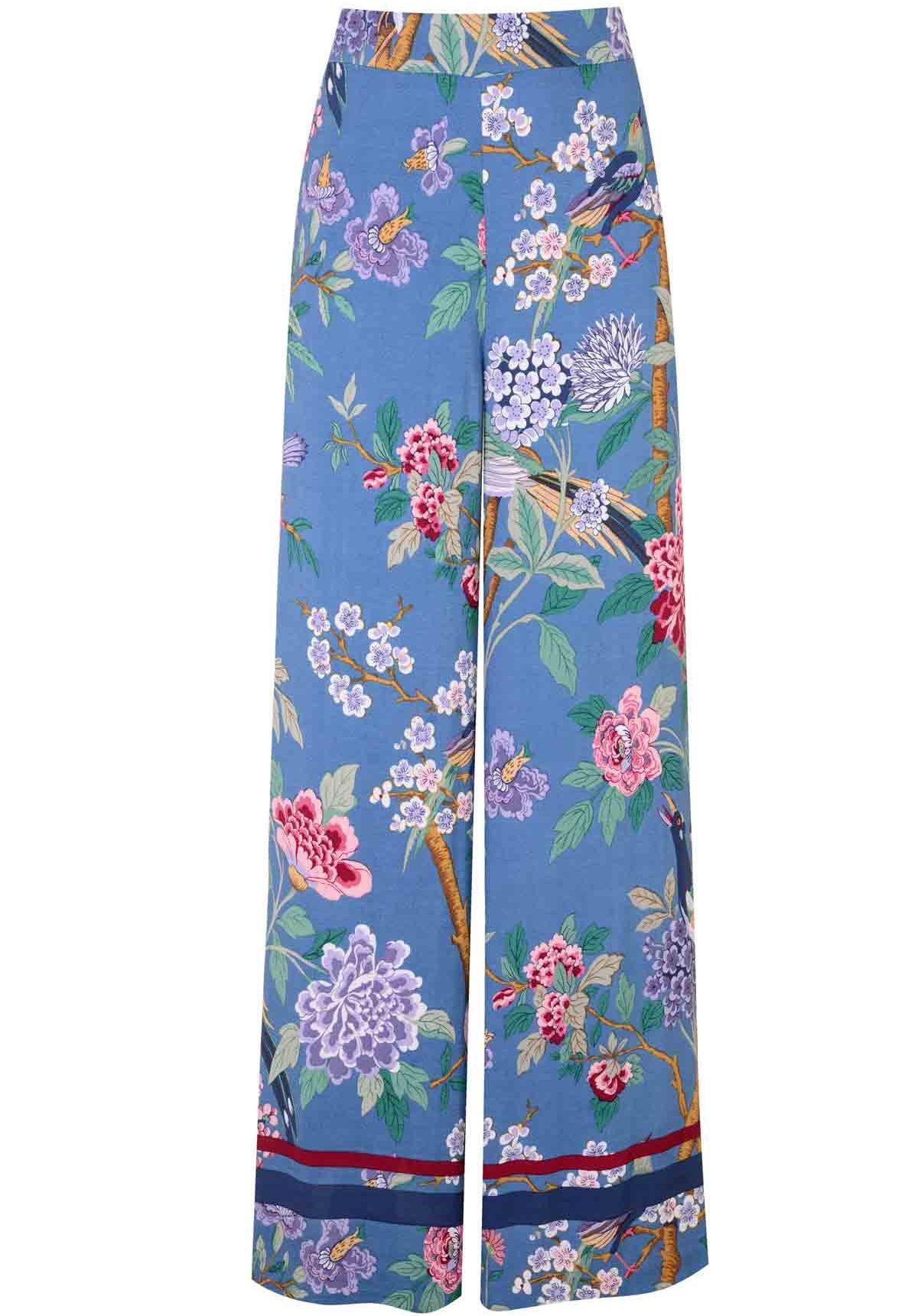 db093fc49e38 GP & J Baker x H&M Hydrangea Bird Trousers, £34.99