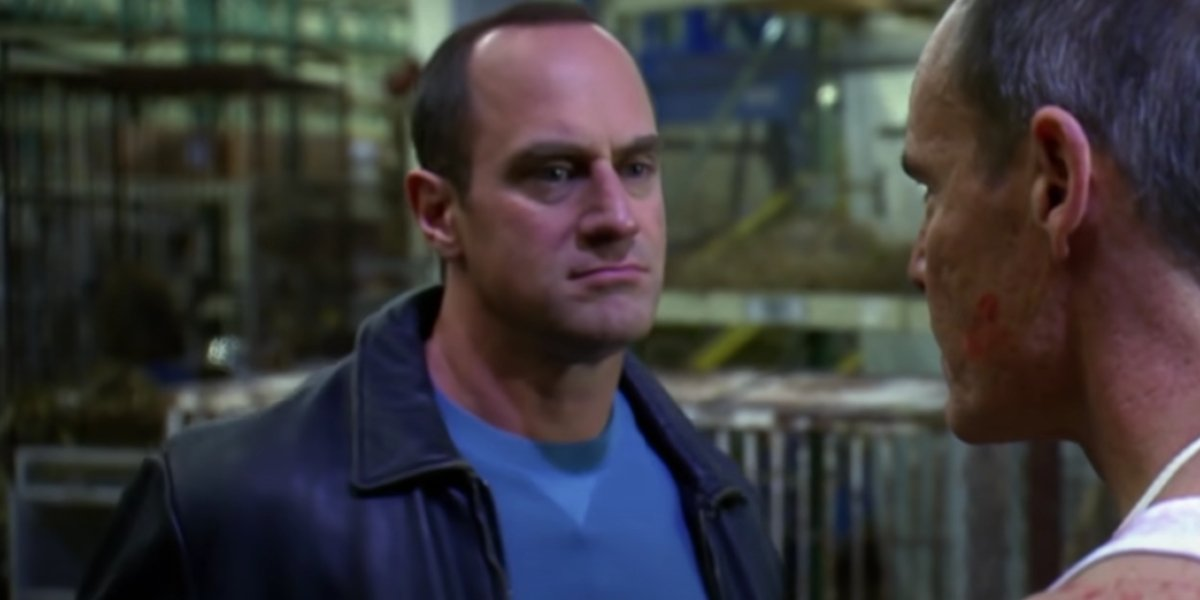 Christopher Meloni on Law And Order: SVU