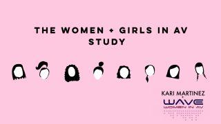 2020 Women + Girls in AV Survey cover image