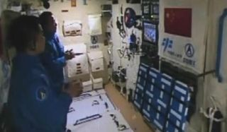 China's Tiangong-2 Space Lab