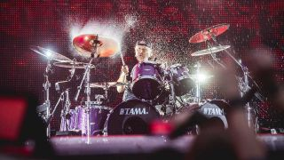 Lars Ulrich onstage in 2019
