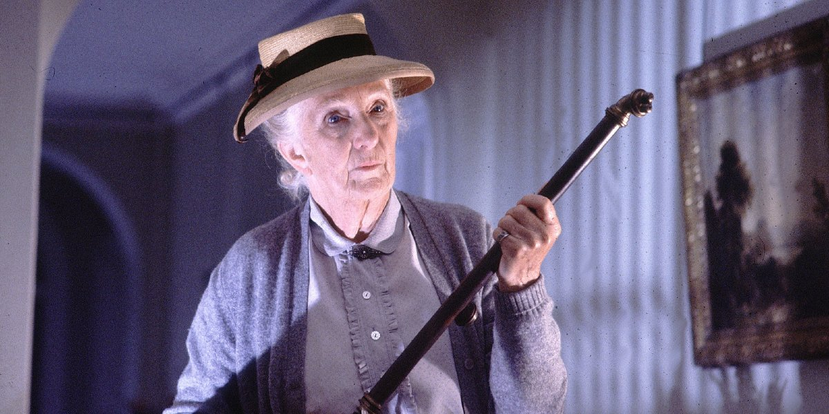Joan Hickson on Miss Marple