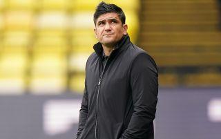 Watford head coach Xisco Munoz