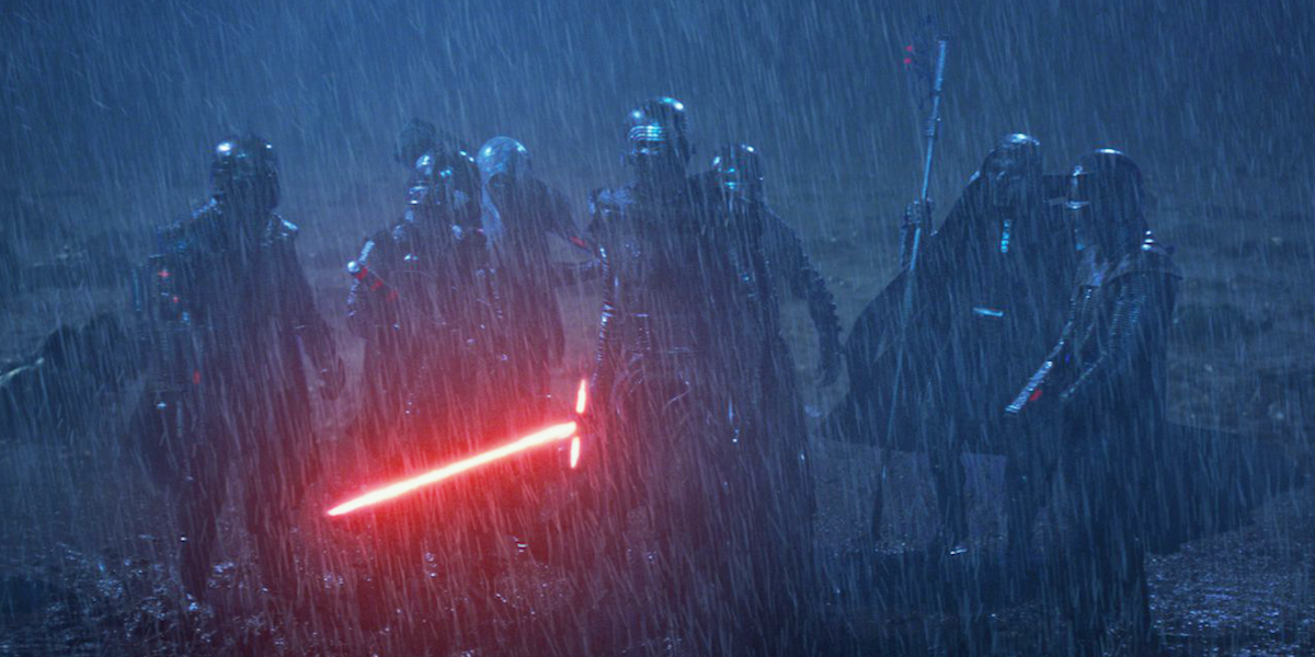 Kylo Ren and Knights of Ren in Star Wars: Last Jedi