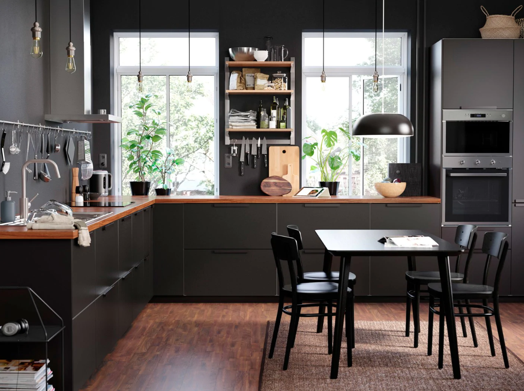 Want to freshen up your Ikea kitchen doors?