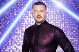 Strictly Olympian... Adam Peaty gets his glitter on!