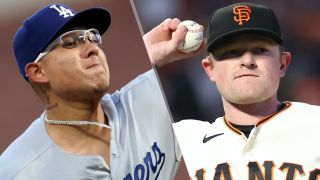Julio Urias and Logan Webb will take the mound in the Dodgers vs Giants live stream