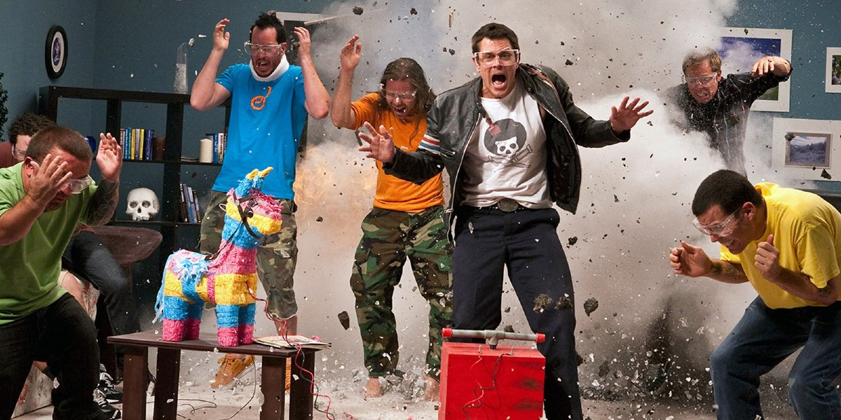 The Jackass cast in Jackass 3D