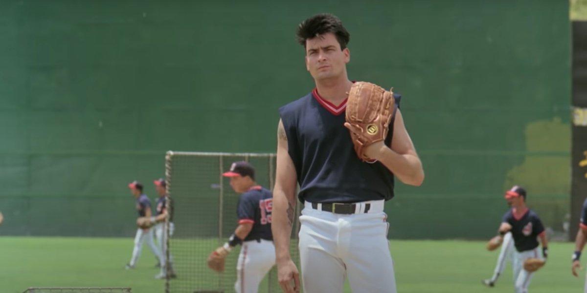 Charlie Sheen in Major League