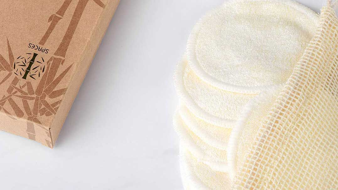 Swap to reusable makeup pads – and never buy wipes again. Saving the planet and £££s...