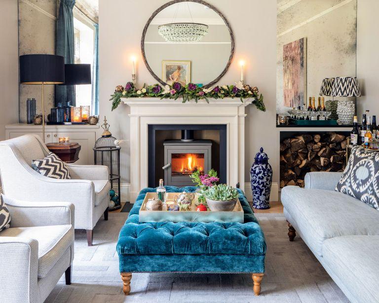 Winter living room ideas