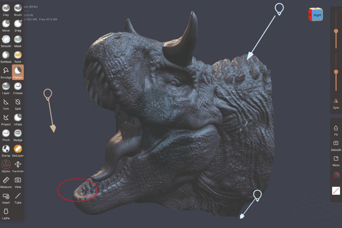 How to 3D sculpt on an iPad