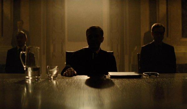 Blofeld Spectre Christoph Waltz in the shadows