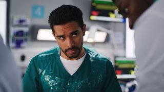 Rash watched Mason at work in the ED in Casualty