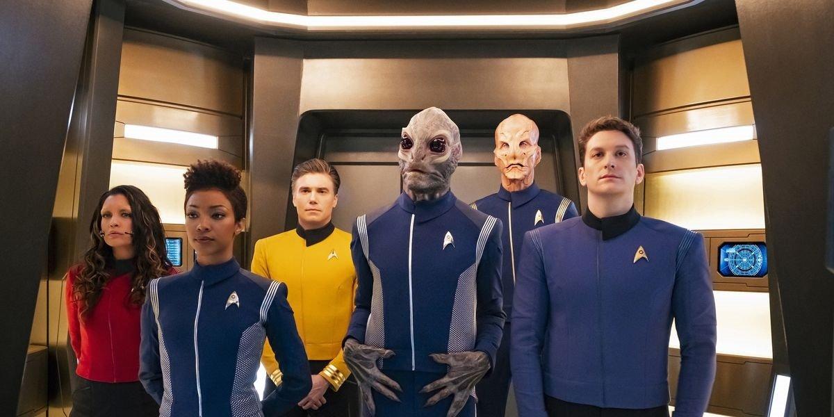 Star Trek Discovery cast CBS