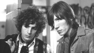 Syd Barrett and Roger Waters at BBC Studios, 1967