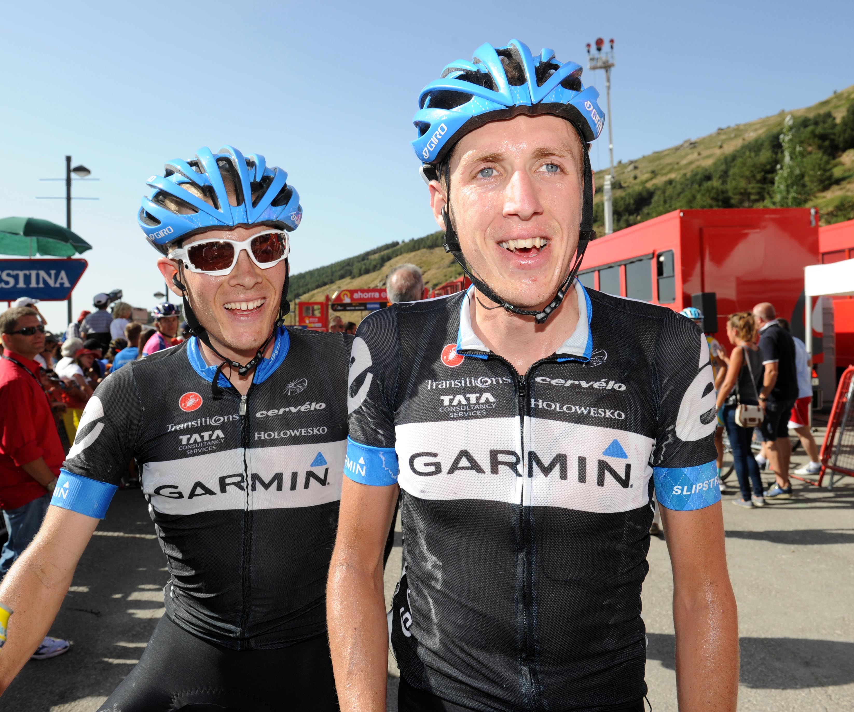 Andrew Talansky and Daniel Martin, Vuelta a Espana 2011, stage four