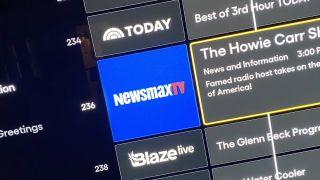 Newsmax on Pluto TV