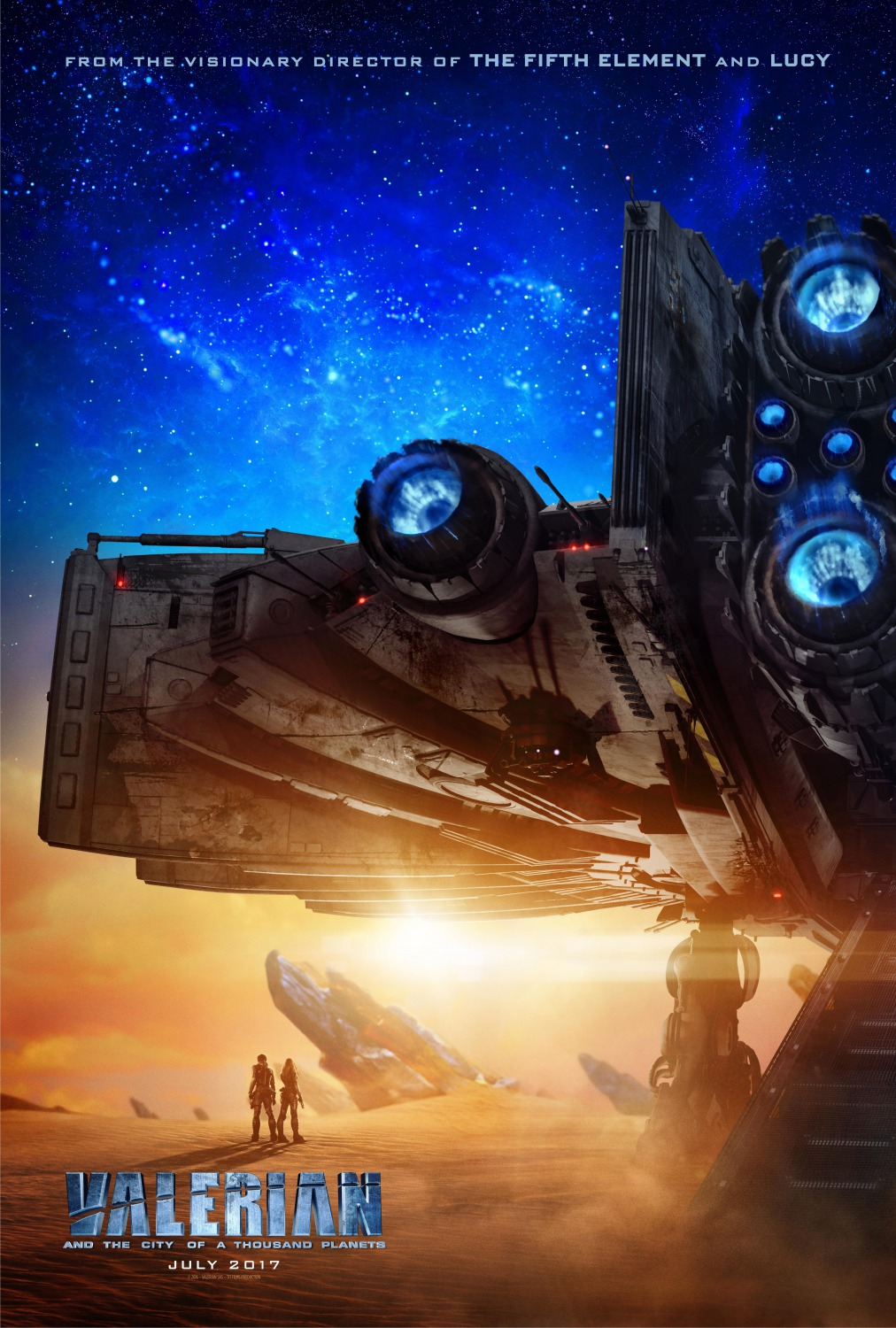 Valerian Time Traveling Ship And Other Sci Fi Awesomeness Revealed At Ny Comic Con Space