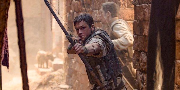 Taron Egerton is Robin Hood