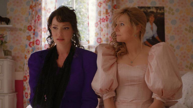 "Katherine Heigl, Sarah Chalke, ""Firefly Lane"" (2020)"