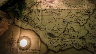 Elder Scrolls map