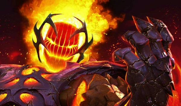 Dormammu jons Marvel vs. Capcom: Infinite