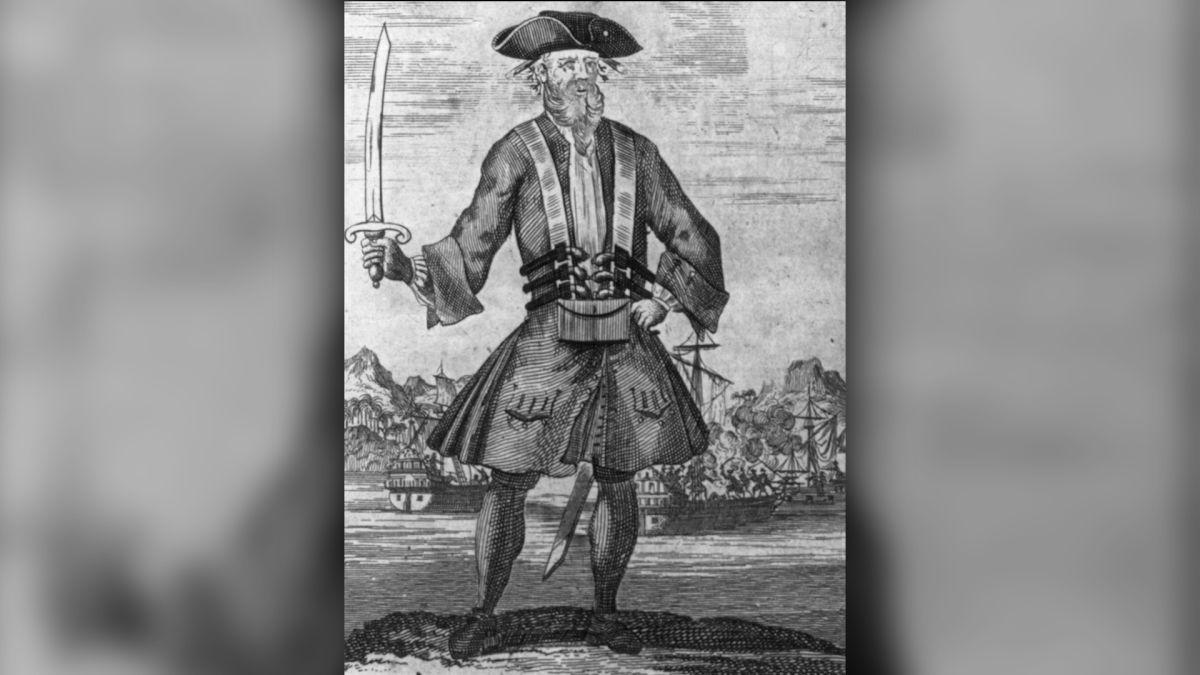 Abandon ship! 18th-century pirate Blackbeard deliberately grounded his leaky boat