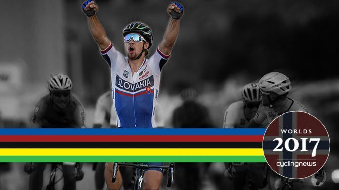 Peter Sagan going for a third straight world title