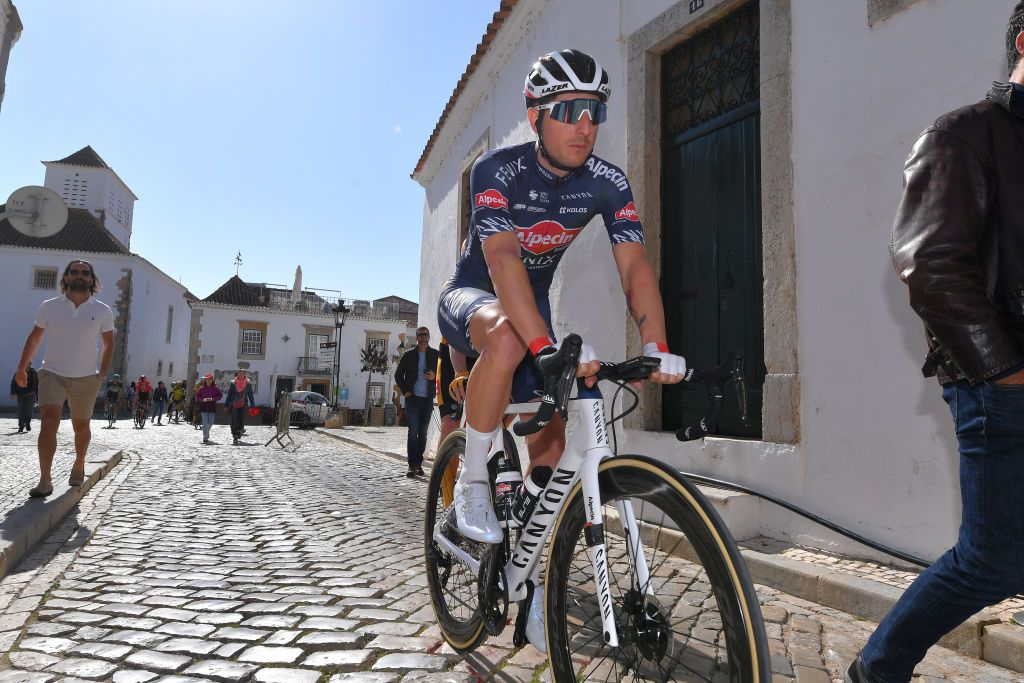 Modolo shows signs of recovery from intestinal fungus at Volta ao Algarve
