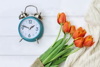 Daylight saving time spring
