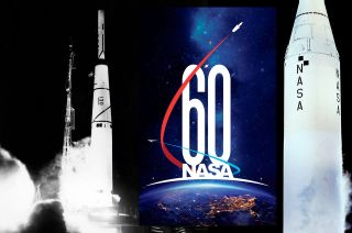 nasa 60th first mission moon