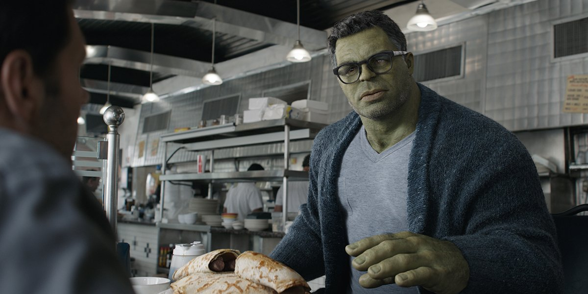 Mark Ruffalo's Hulk in Avengers: Endgame