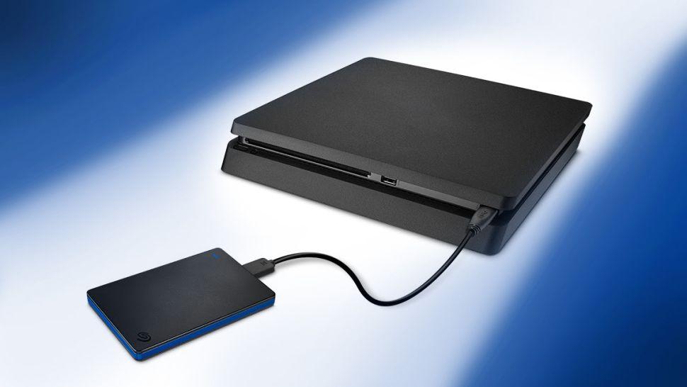 Using PS4 External HDD